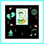 3 and box
