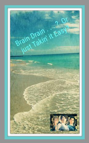 Brain Drain . . .?